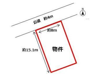 区画図 | 岡田1丁目 売地(鈴鹿市土地)