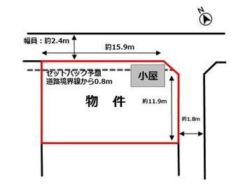 区画図 | 岸岡町 売地(鈴鹿市土地)