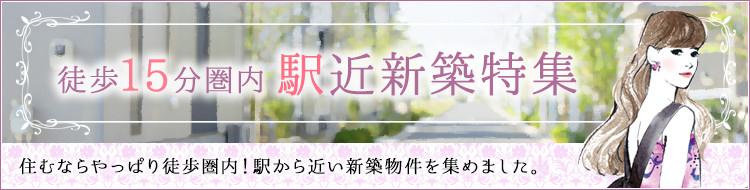 徒歩15分圏内 駅近新築特集