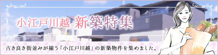 小江戸川越 新築特集