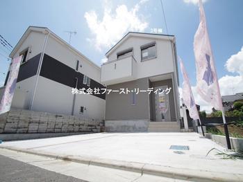 外観 : 暮らしをより美しく優雅にする住まい。  | 富士見市水子第20の家 全3邸 3号棟(富士見市新築一戸建て)