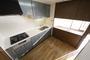 収納スペース充実 カウンター付きキッチン